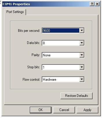 Setting Parameter