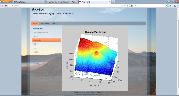 Matlab Figure on web browser