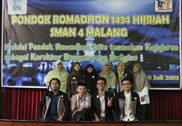 Pendamping Pondok Ramadhan MyLife SMAN 4 Malang