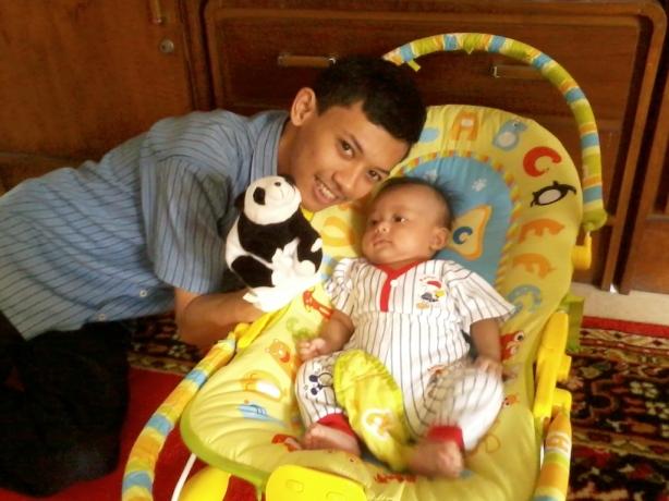 dengan keponakan :-)