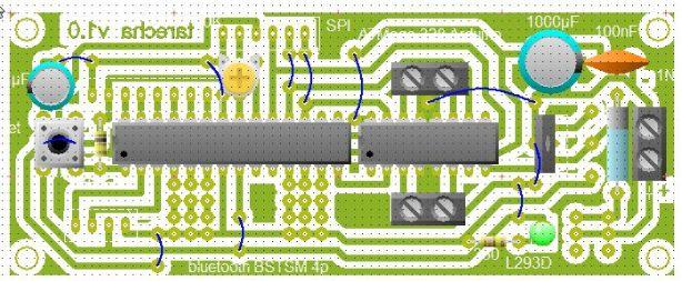 pcb arduino line tracer