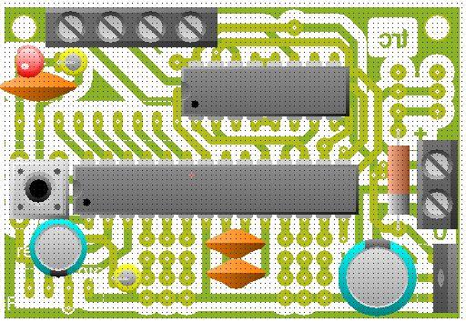 komponen mini line tracer