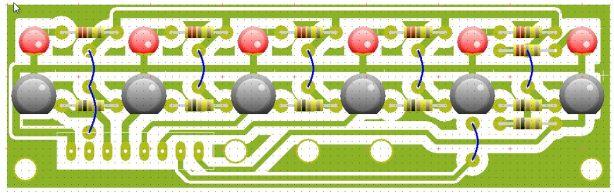 Sensor ADC 6x lurus