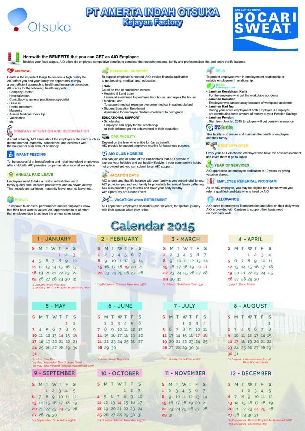 Kalender AIO design by Mochamad Agung Tarecha