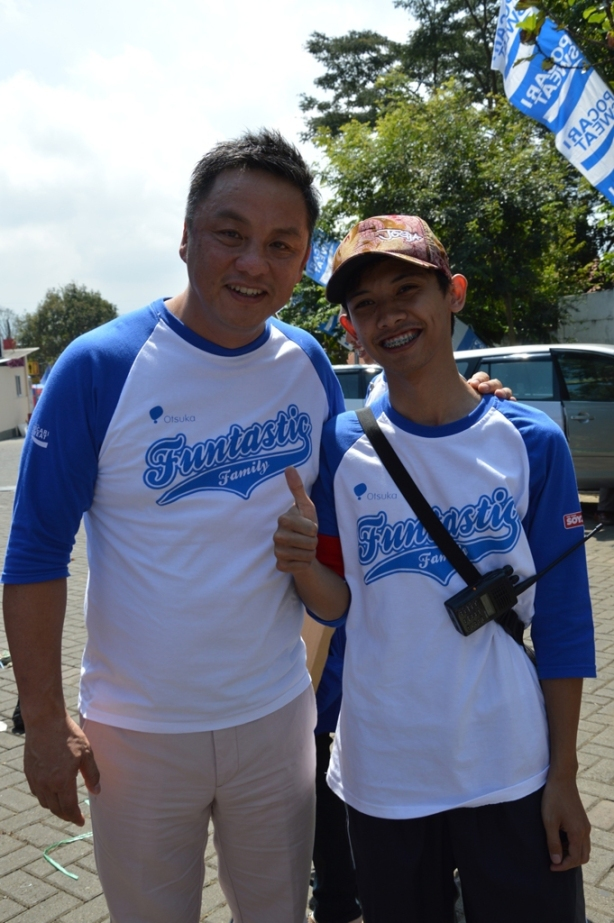 dengan PresDir AIO Yoshihiro Bando