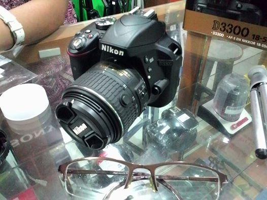 kamera nikon D3300 hadiah ultah adek Imam :-)