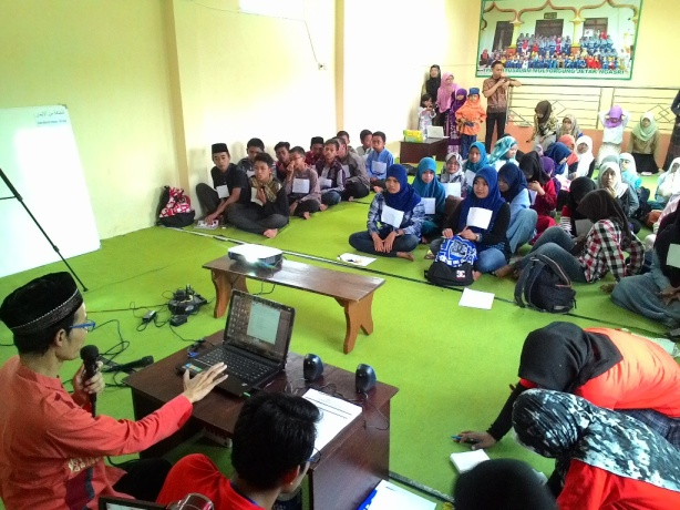 Training Character Building TPQ Baitussalam