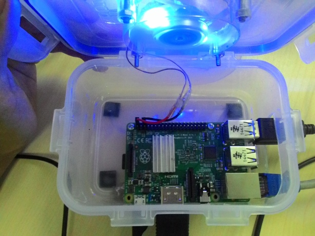 Inside Raspberry PI