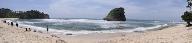 Landscape Pantai Ngudel