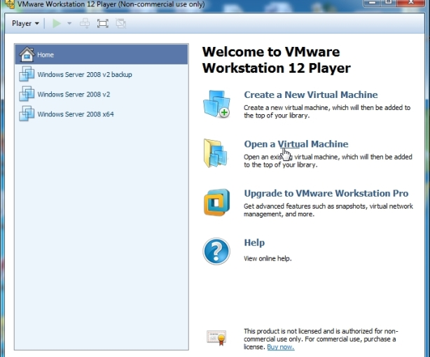 VMWare Player free