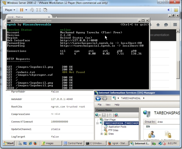 Virtual Maching dan HTTP Tunneling