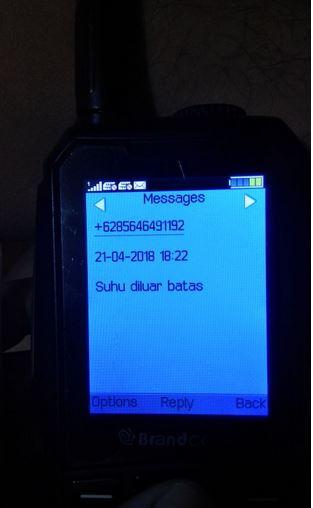 SMS diterima